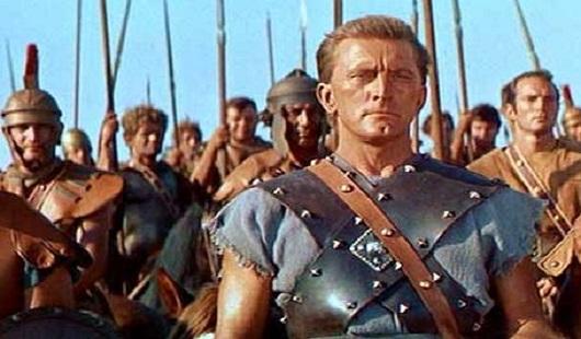 kirk douglas as spartacus image