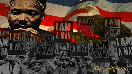 Me & Dr King Song By The Jellybottys Download Page Image